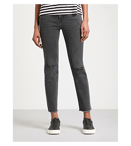 FRAME Garcon straight mid-rise jeans (Nichols