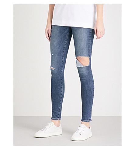 FRAME Le High Skinny high-rise jeans (Gautrey