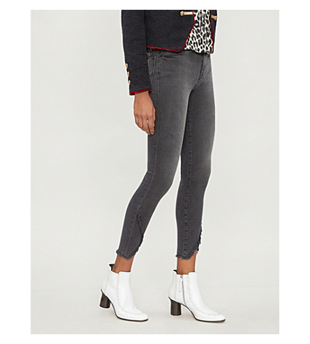 FRAME Le High high-rise skinny jeans (Quinby