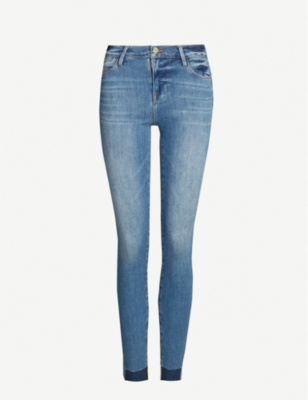Le High Skinny high-rise skinny jeans