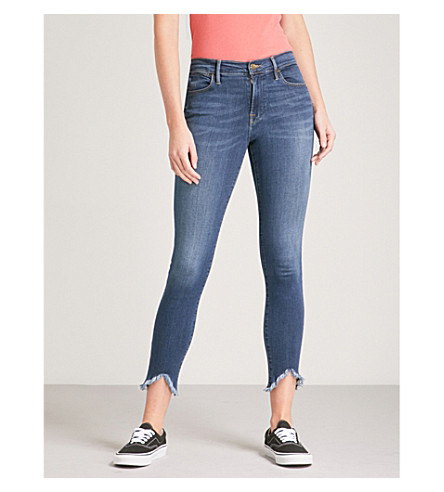 FRAME Le High skinny-fit high-rise jeans (Sulham