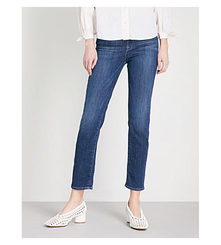 FRAME Le High straight slim-fit jeans (York
