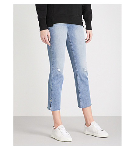 FRAME Le High Straight mid-rise jeans (Surrey