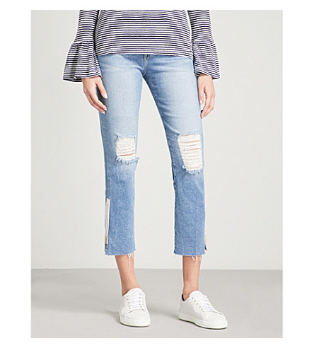 FRAME Le High Straight high-rise jeans (Alloway
