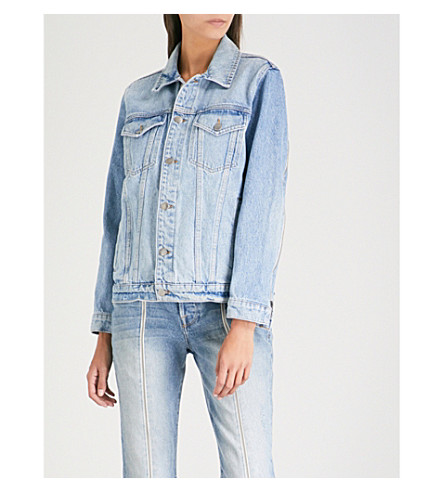 FRAME Le Oversized denim jacket (Newbridge