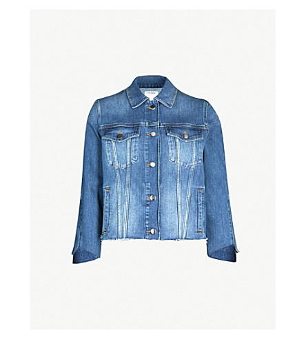 FRAME Le Jacket Triangle Gusset denim jacket (Trek