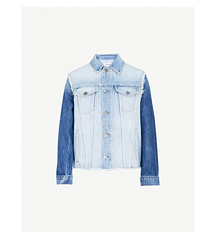 FRAME Le Reconstructed denim jacket (Cullen