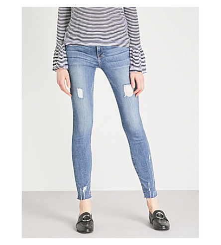 FRAME Le Skinny de jeanne skinny mid-rise jeans (Sedgwick
