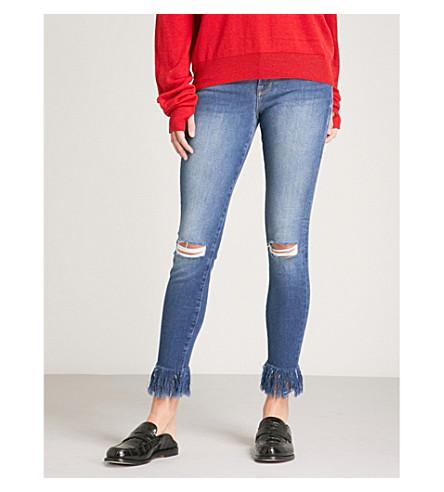 FRAME Le Skinny de Jeanne skinny-fit mid-rise jeans (Lambeth