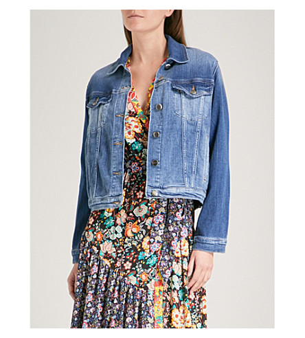 FRAME Vintage stretch-denim jacket (Waltham+way