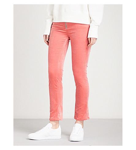 RAG & BONE Dojo skinny mid-rise jeans (Washed+red+600