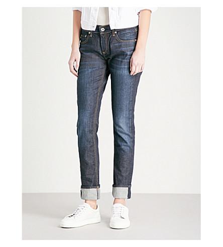 RAG & BONE Straight mid-rise jeans (Beverleys