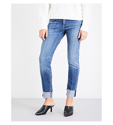 RAG & BONE Dre cropped skinny mid-rise jeans (Coopers
