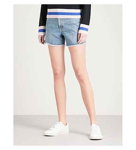RAG & BONE Torti high-rise denim shorts (Vintage