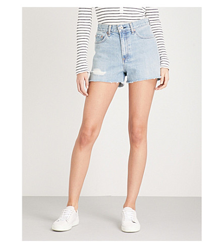 RAG & BONE Justine denim shorts (Duffs