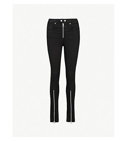 RAG & BONE Isabel skinny high-rise stretch jeans (Black