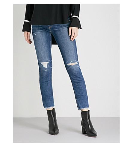 RAG & BONE Dre Ankle skinny high-rise jeans (Deville