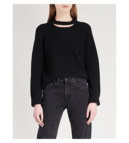 RAG & BONE Tori wool jumper (Black+001