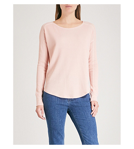RAG & BONE Tilda raglan-sleeve cotton-jersey top (Sunset+477