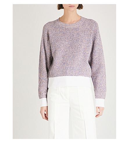RAG & BONE Marled knitted cotton jumper (Multi
