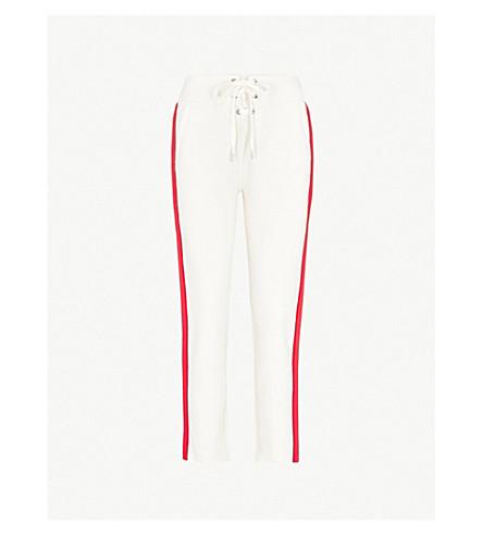 RAG & BONE Hadley lace-up detail cotton-jersey jogging bottoms (Turtledove+271