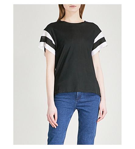 RAG & BONE Penny stretch-jersey T-shirt (Black
