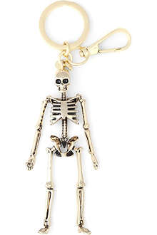 ALEXANDER MCQUEEN Skeleton key ring