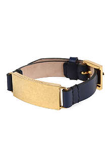 ALEXANDER MCQUEEN Leather buckle bracelet