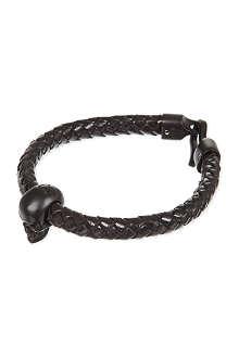 ALEXANDER MCQUEEN Skull rope bracelet