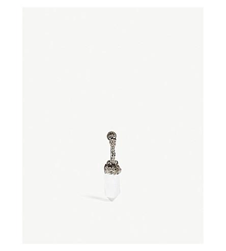 ALEXANDER MCQUEEN Rock crystal earring (Mutli