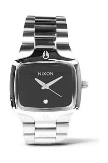 NIXON The player stainless steel watch