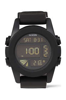 NIXON Unit rubber digital watch