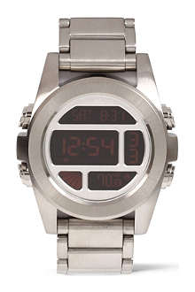 NIXON Unit stainless steel digital watch