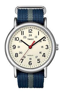 TIMEX T2N654 Weekender Slip Thru watch