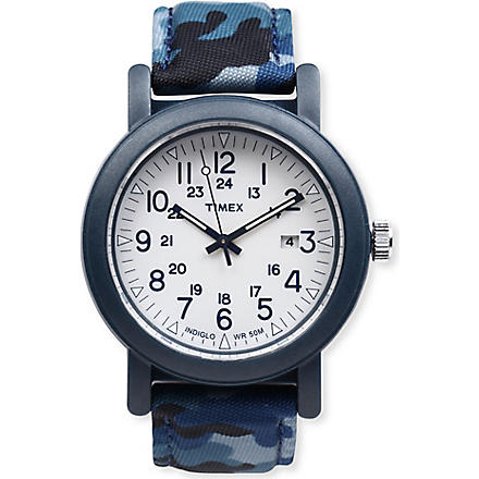 TIMEX Camouflage watch (Blue