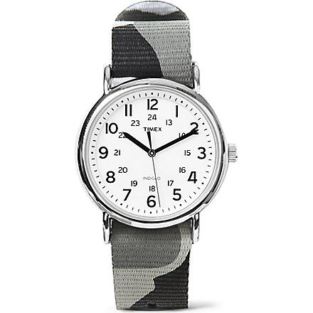 TIMEX Camouflage watch (Grey+white