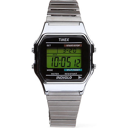 TIMEX Classic digital watch (Silver