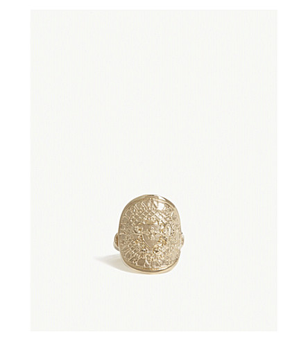 BALMAIN Iconic coin ring (Gold