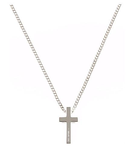 SEVEN JEWELLERY Classic cross pendant (Silver