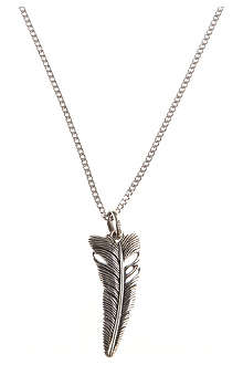 SEVEN LONDON Life feather pendant