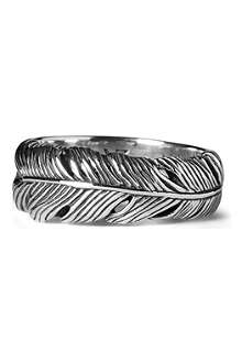 SEVEN LONDON Life feather ring