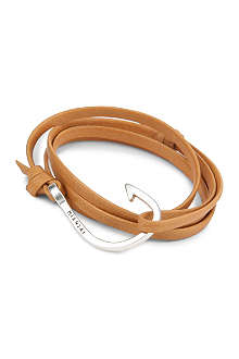 MIANSAI Hooked leather bracelet