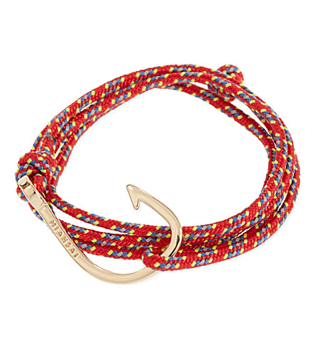 MIANSAI Fishing hook bracelet (Red
