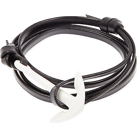 MIANSAI Anchor bracelet (Black