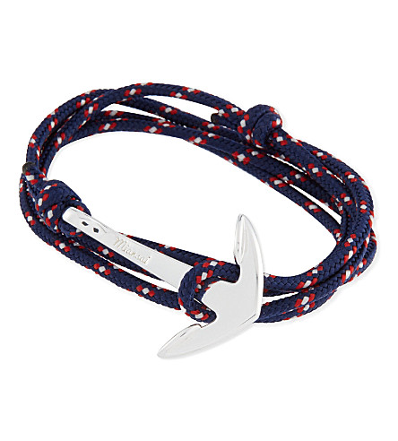 MIANSAI Anchor rope bracelet (Navy+blue