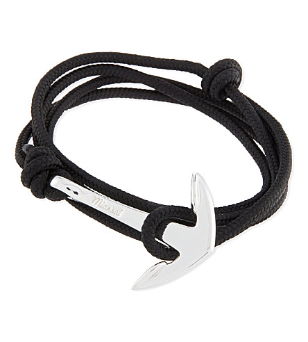 MIANSAI Anchor rope bracelet (Solid+black