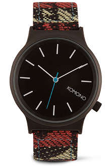 KOMONO Navajo printed watch