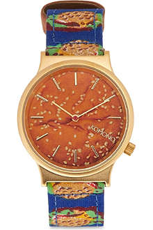 KOMONO Wizard burgertime watch