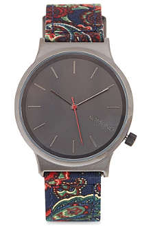 KOMONO Wizard paisley watch