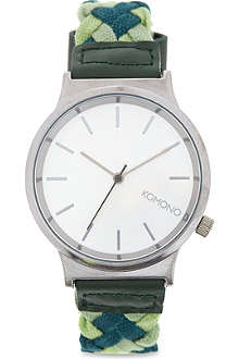 KOMONO Mixed Greens watch